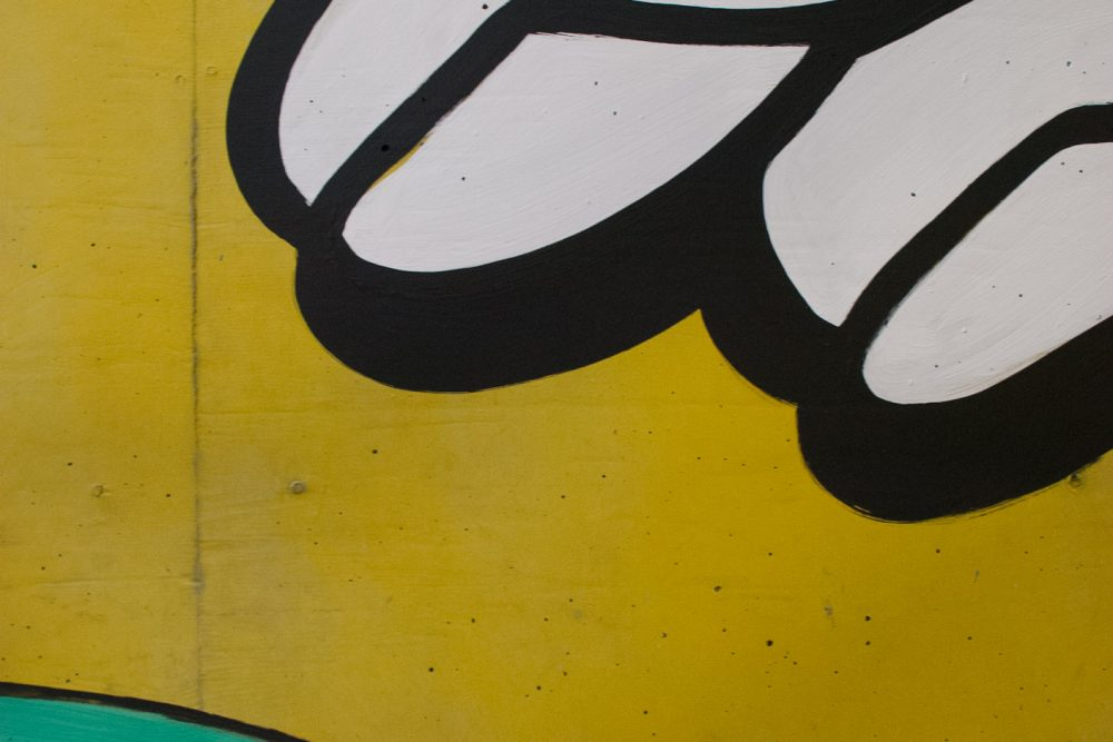 Detailansicht grüne Kugel im KG